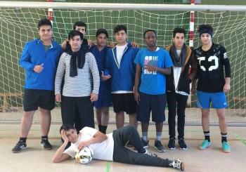 Oberstufenschüler vermitteln an Flüchtlinge Deutschkenntnisse