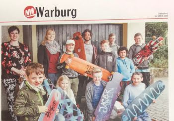 Longboard Workshop in Willebadessen voller Erfolg!